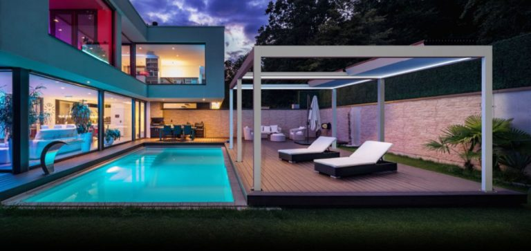 Skyroof Prestige Lamellendach - Sonnenschutz