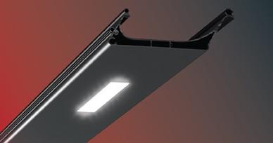 Lamellendächer-beleuchtung